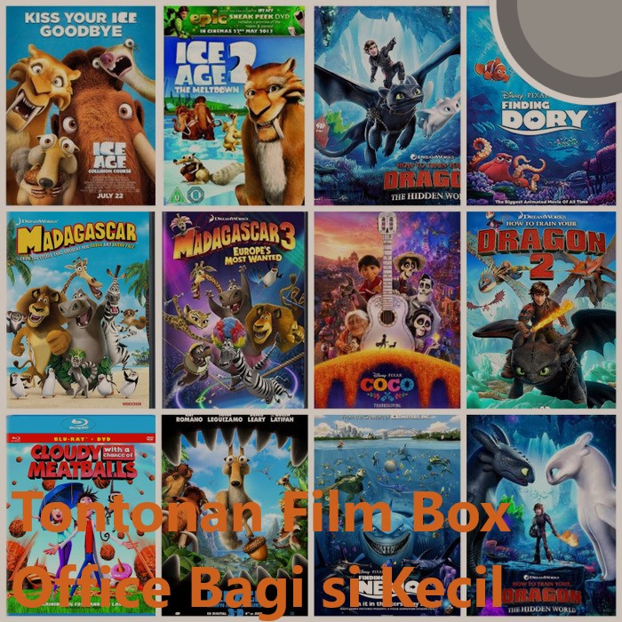 Tontonan Film Box Office Bagi si Kecil